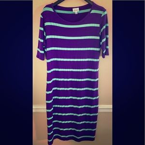 Lularoe Julia Dress Medium
